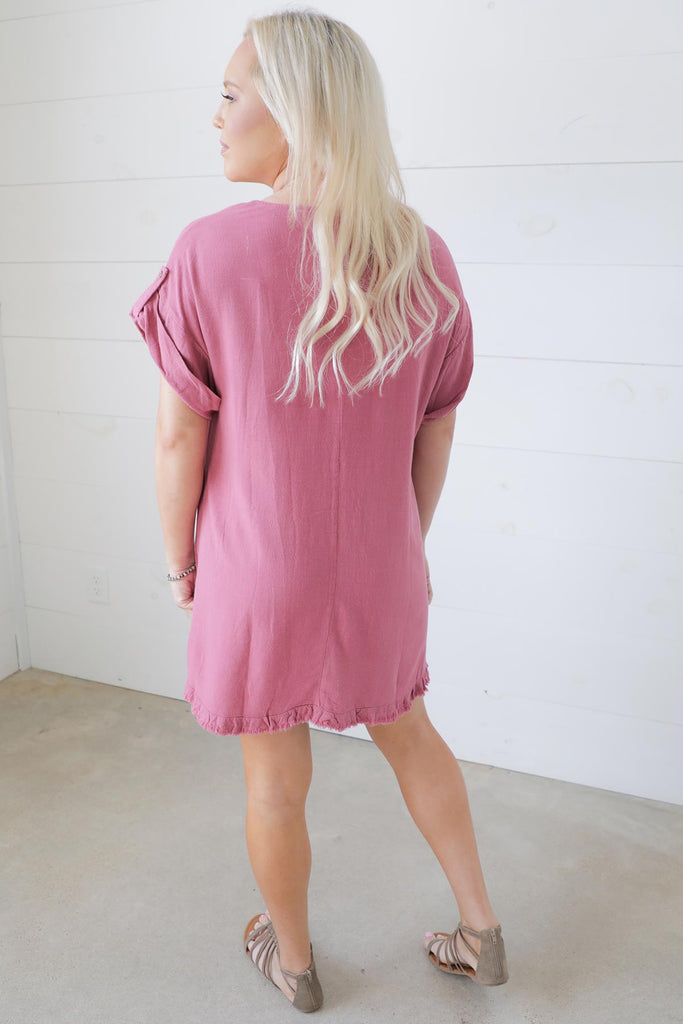 Unleash Comfort Linen Dress - Umgee