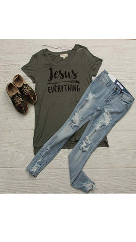 """Jesus Over Everything"" Tee"