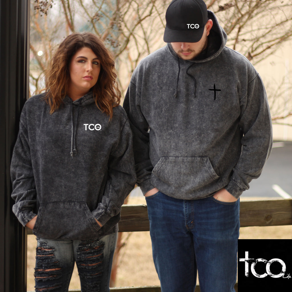TCOLIFE - Mineral Wash Hoodie - My Faith