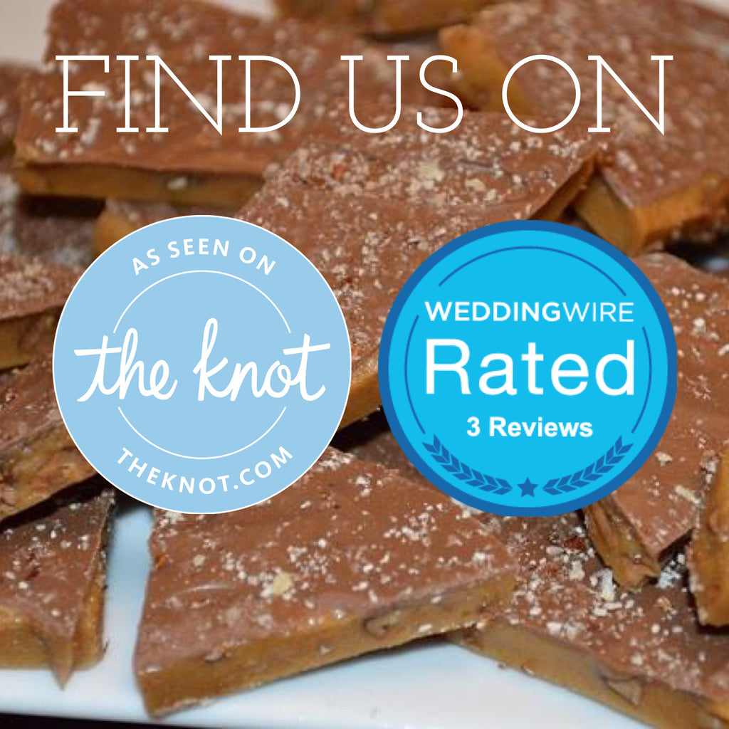 Wellington Toffee is on The Knot and WeddingWire