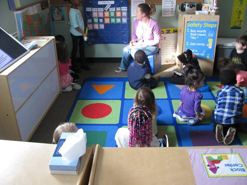 Children participating in our Head Start education program.