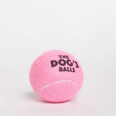 The Dog's Balls - 12 Strong Dog Tennis Balls