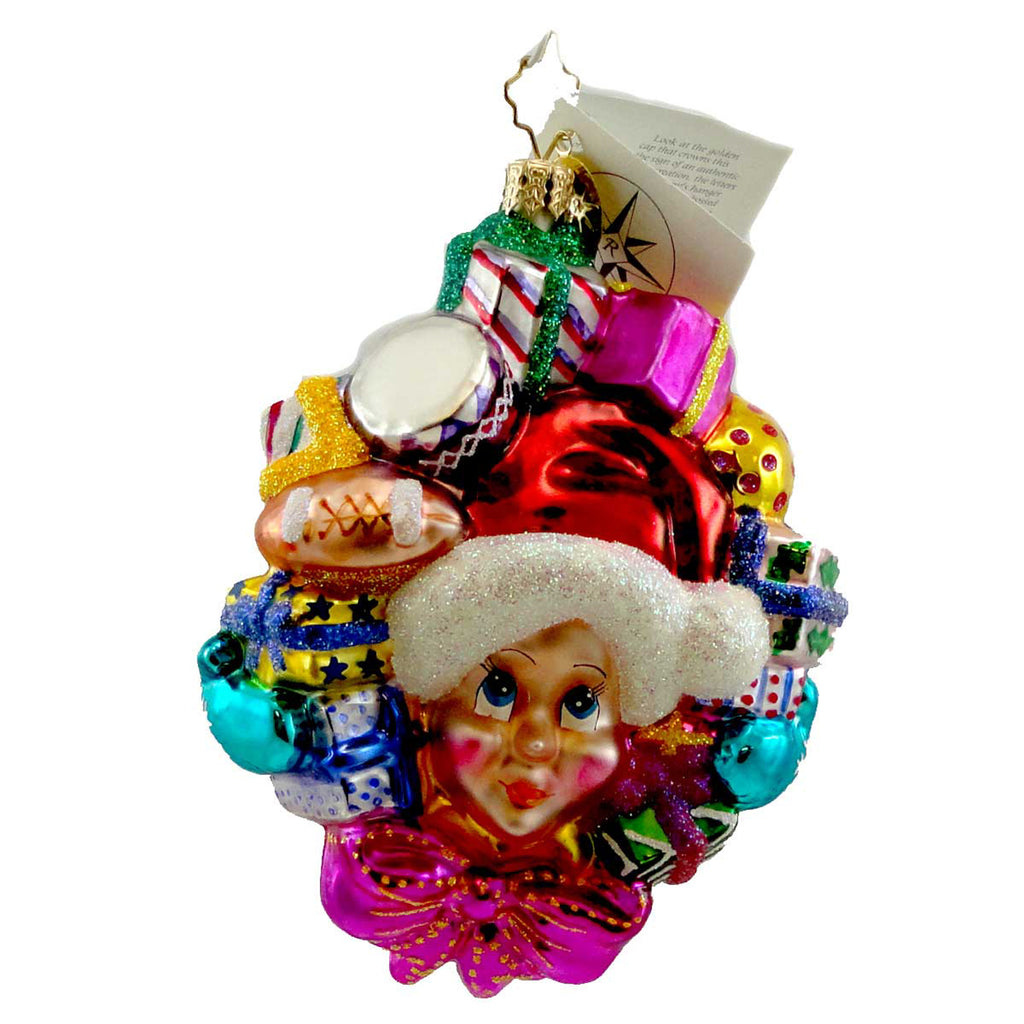 Christopher Radko Gift Of Giving Glass Ornament