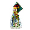 Christopher Radko Snowfall Fellows Glass Ornament