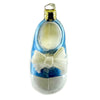 Ornaments To Remember Shoe (Blue) Glass Ornament
