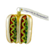 Ornaments To Remember Hot Dogs Glass Ornament