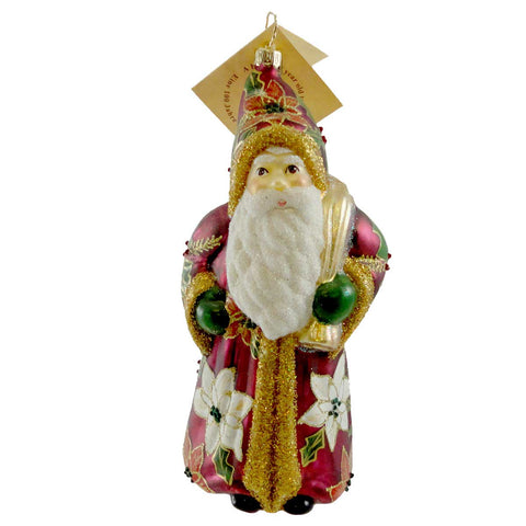 Gabriela Christoff Kris Kringle Glass Ornament 10223