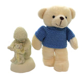 Dept 56 Snowbabies Baby Bear Steps Figurine - Story Book Kids