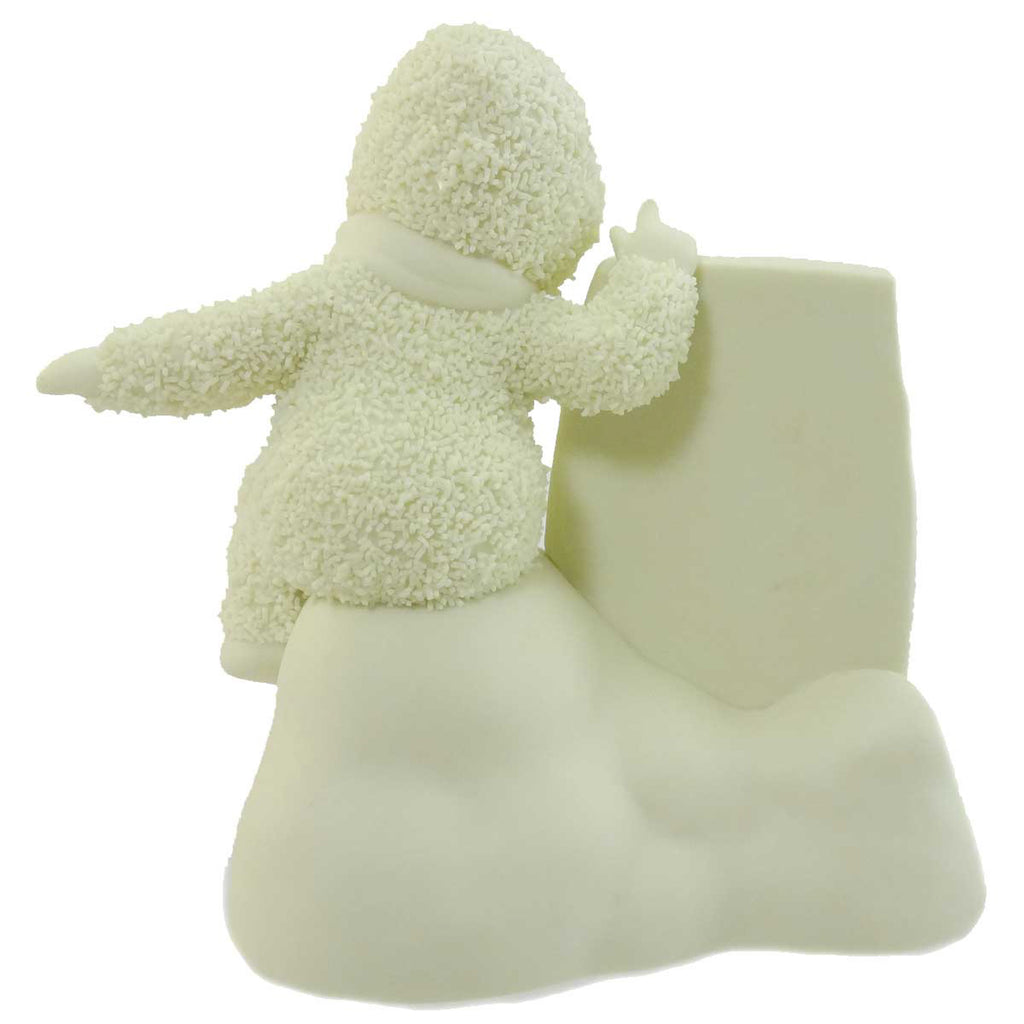 Dept 56 Snowbabies A Little Message To You Figurine