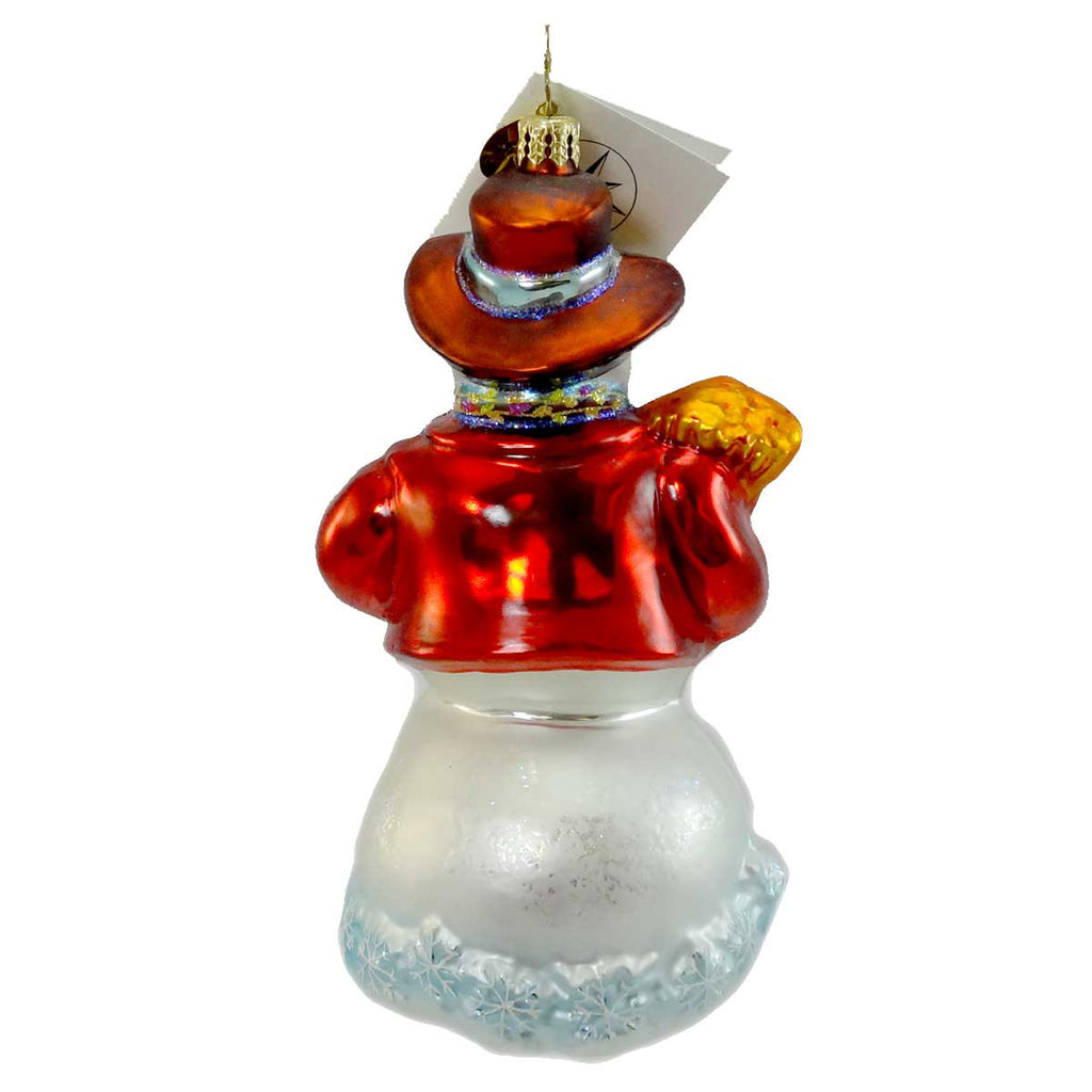 Christopher Radko Humphrey Snowgart Glass Ornament
