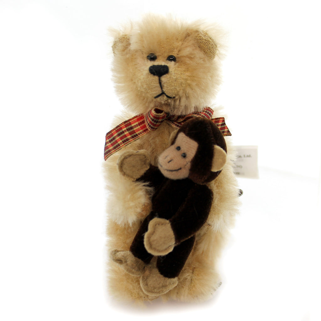 Boyds Bears Plush Madison Miniature Mohair Teddy Bear