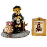Boyds Bears Resin Home From Camp Figurine