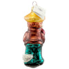 Christopher Radko Farmer Boy Glass Ornament