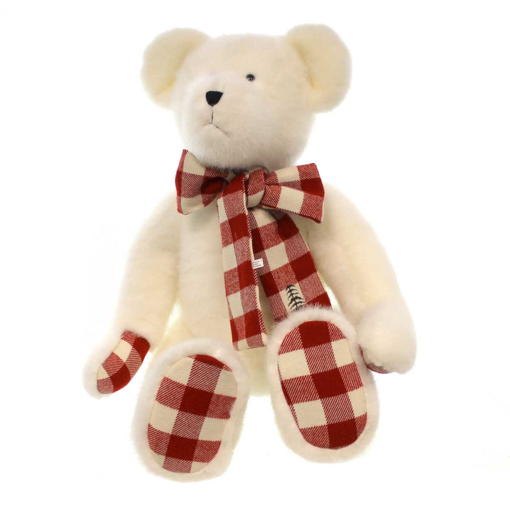 Boyds Bears Plush Owen T Woolbeary Christmas Teddy Bear