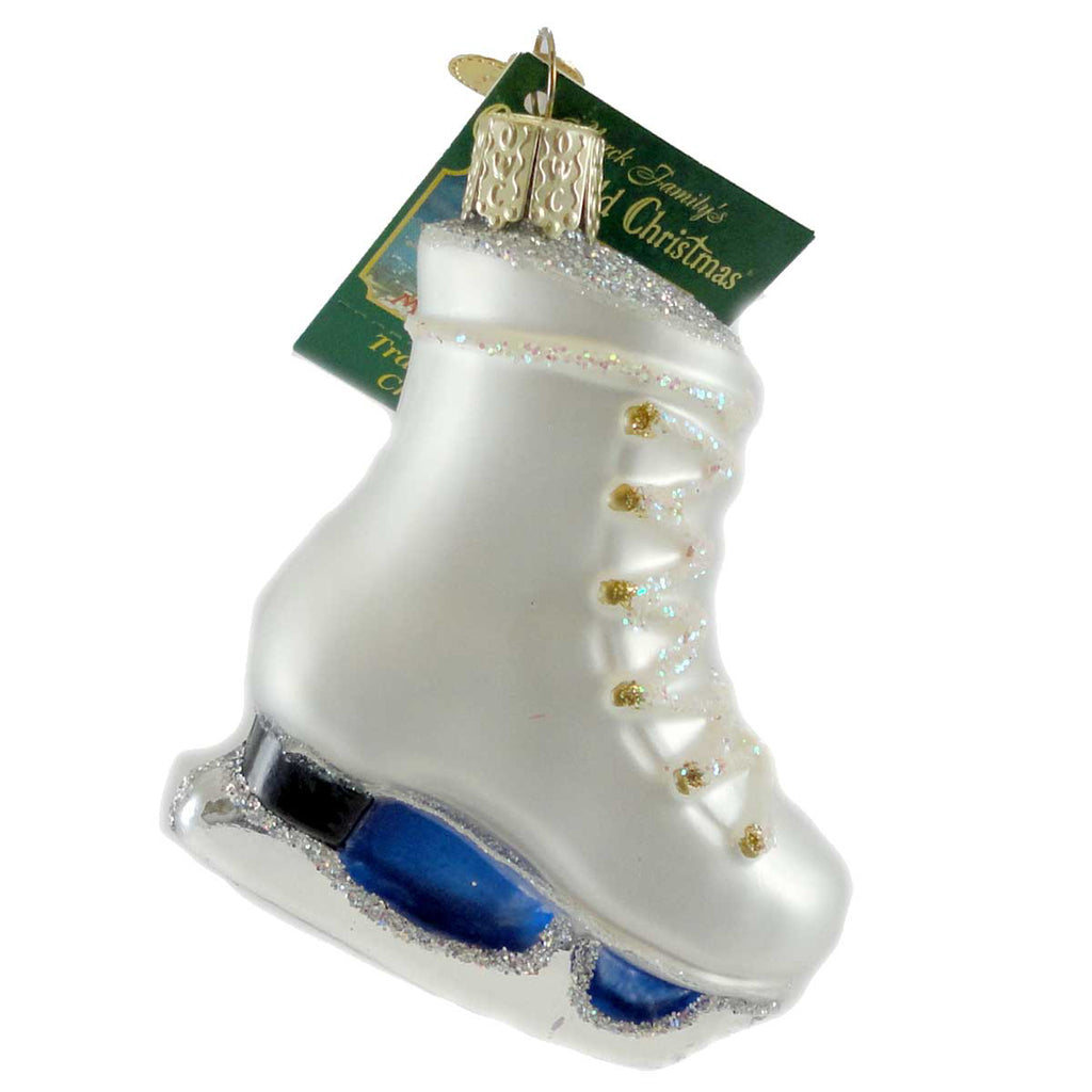 Old World Christmas Ice Skate Glass Ornament - SBKGifts.com ...