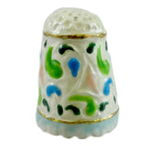 Jim Shore Floral Thimble Figurine