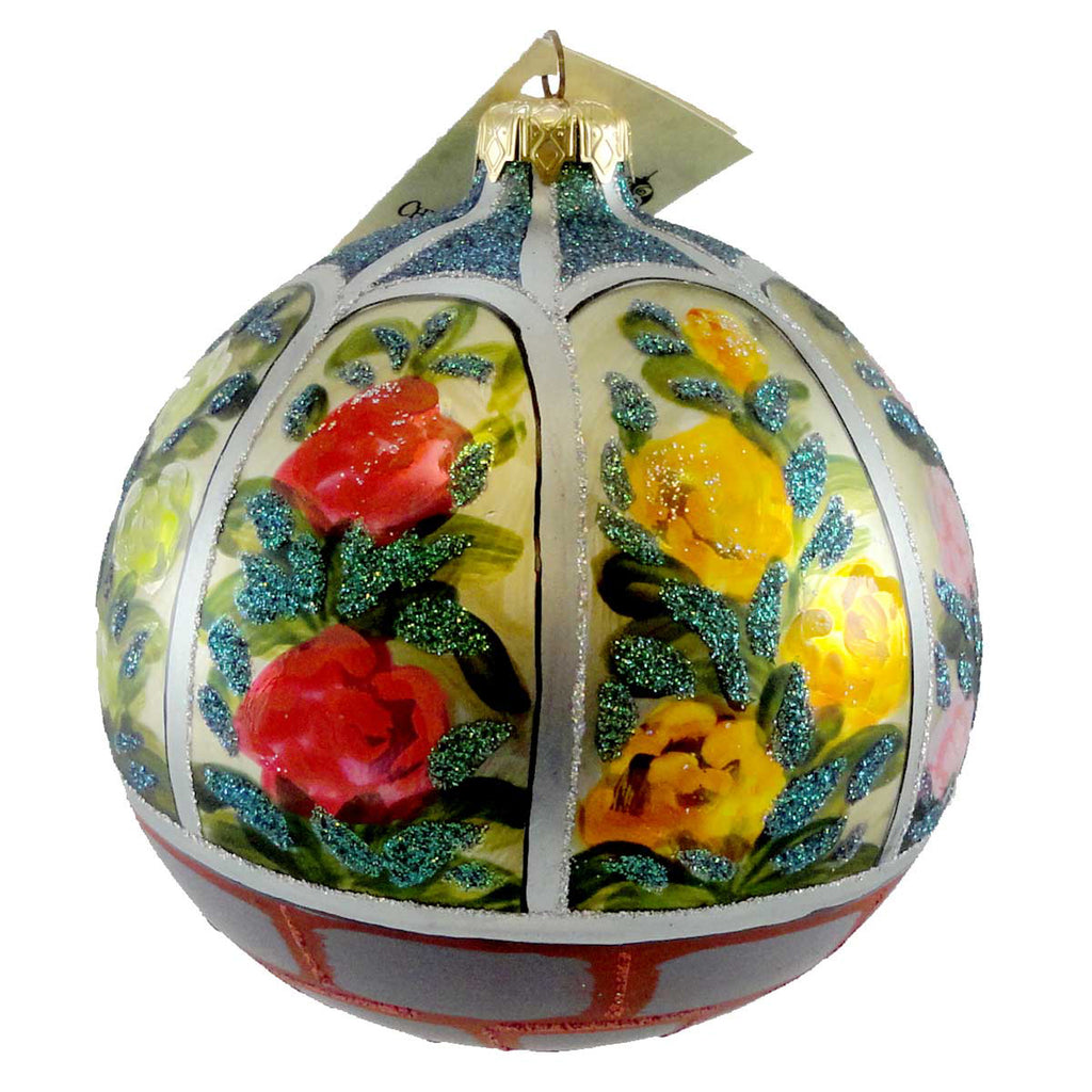 Christina's World Gazebo In The Garden Glass Ornament