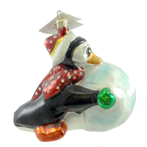 Christopher Radko Snow Biz Glass Ornament