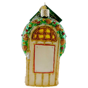 Old World Christmas Welcome Home Glass Ornament