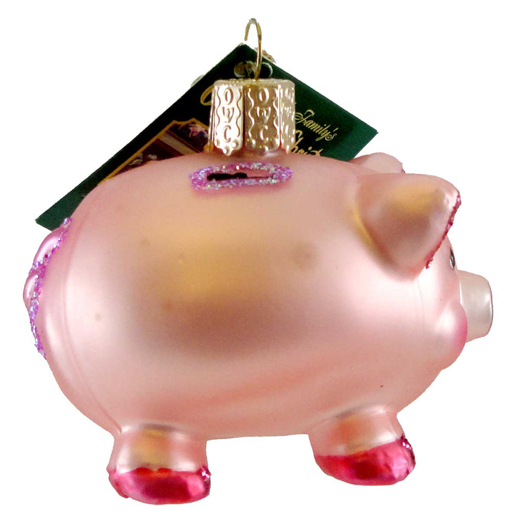 Piggy Bank 36061 Old World Christmas Glass Ornaments - SBKGIFTS.COM - SBK Gifts Christmas Shop Cincinnati - Story Book Kids