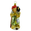 Inge Glas Wicked Witch  Gingerbread Woods Halloween Glass Ornament