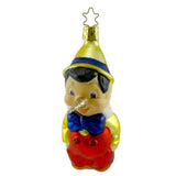 Inge Glas Pinocchio. Glass Ornament