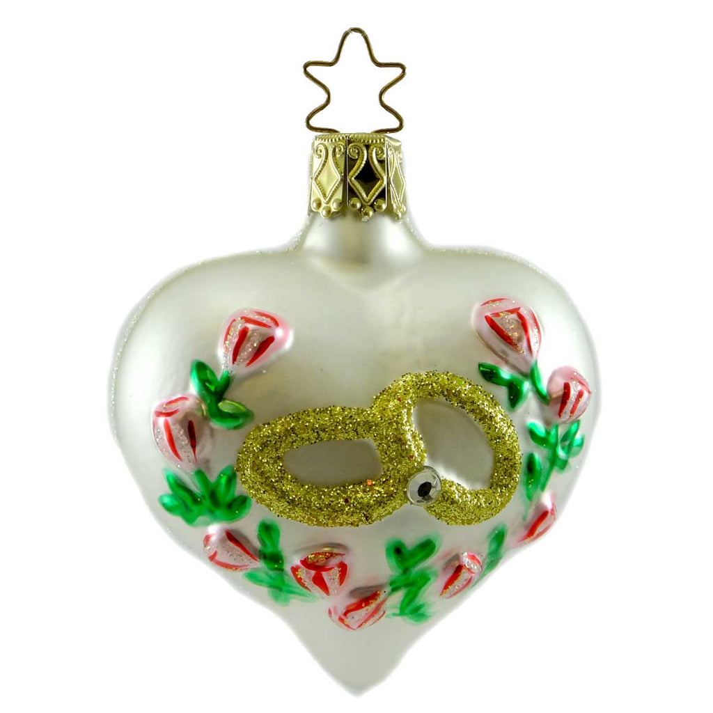 Inge Glas The Promise Glass Ornament