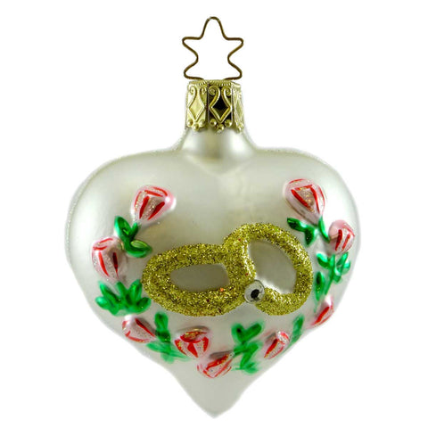 Inge Glas The Promise Glass Ornament 12834