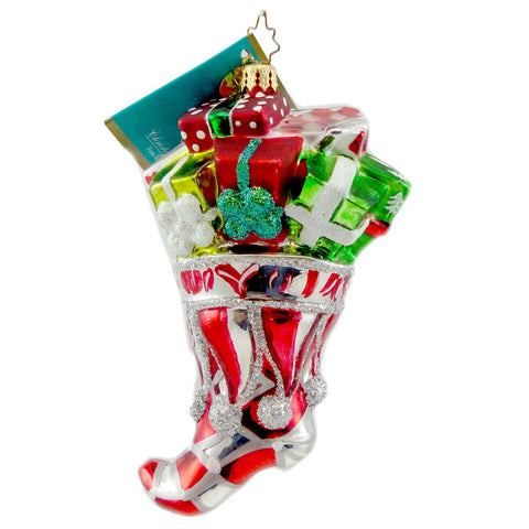 Christopher Radko Bourbon Street Bounty Glass Ornament 1334