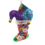 Christopher Radko Head To Toe Snow Glass Ornament