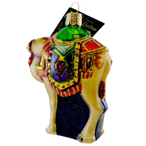 Old World Christmas Magis Camel Glass Ornament