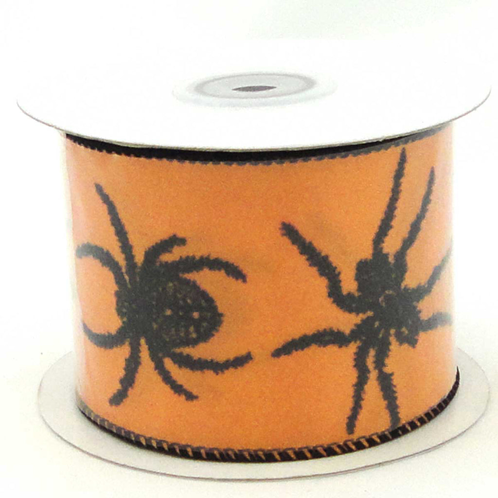 Halloween Spider Fest Ribbon Halloween Decor