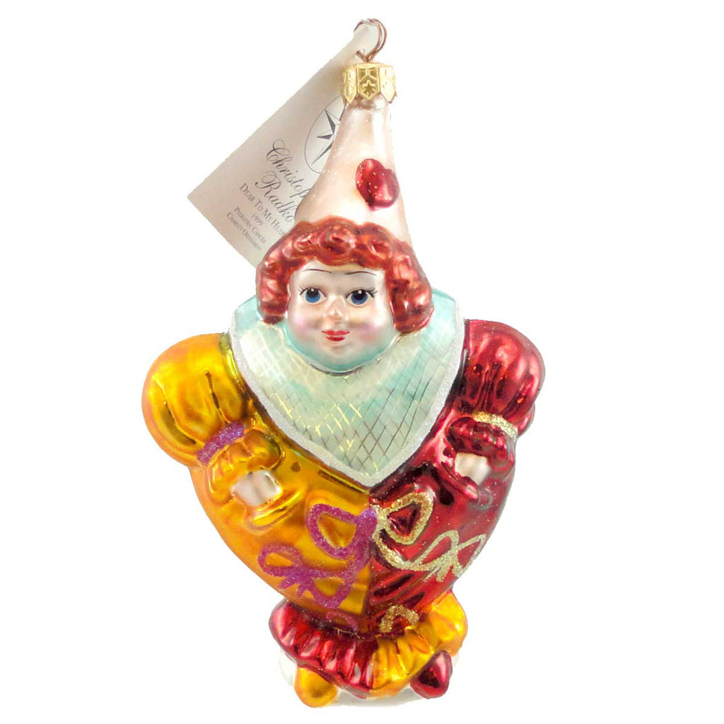 Christopher Radko Dear To My Heart Glass Ornament