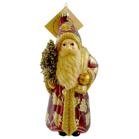 Gabriela Christoff Christmas Tradition Glass Ornament 14749