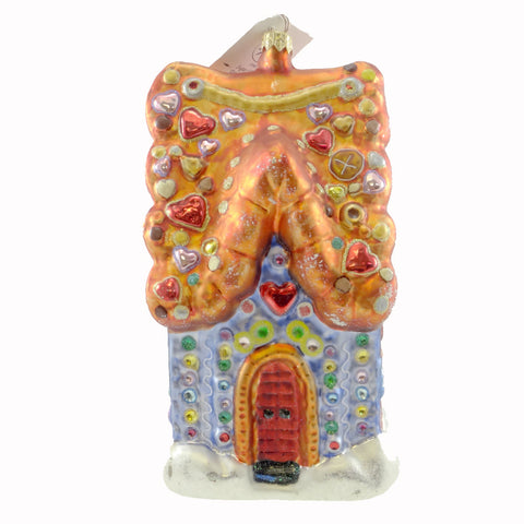 Christopher Radko Sugar Shack Extravaganza Glass Ornament 14984