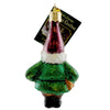 Old World Christmas Gnome Glass Ornament