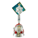Christopher Radko Santa Chimer Glass Ornament