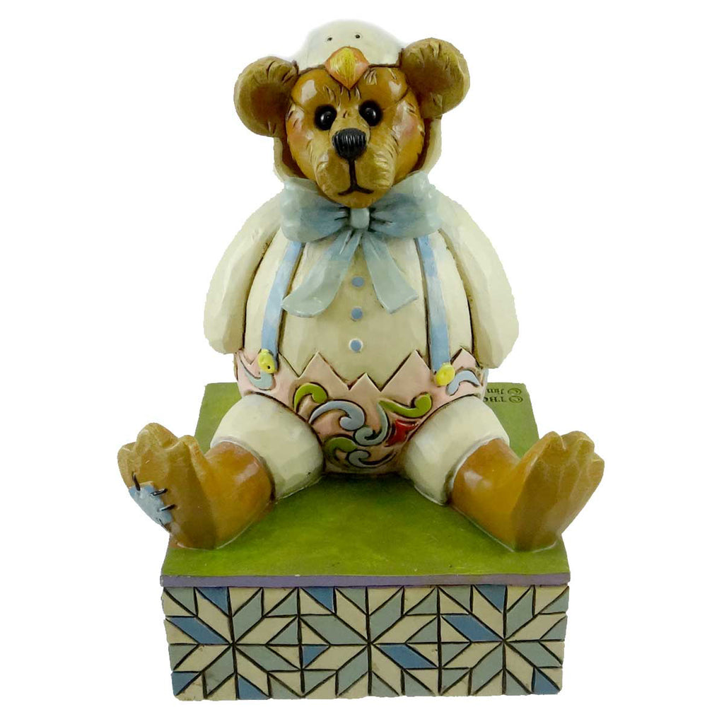 Boyds Bears Resin Alton Chicksley All Cracked Up Easter & Spring Figurine