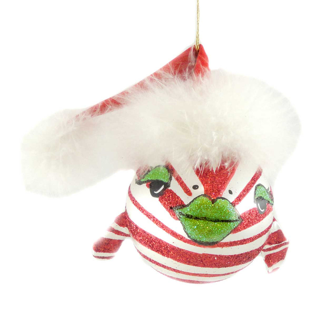 Jinglenog Peppie Glass Ornament