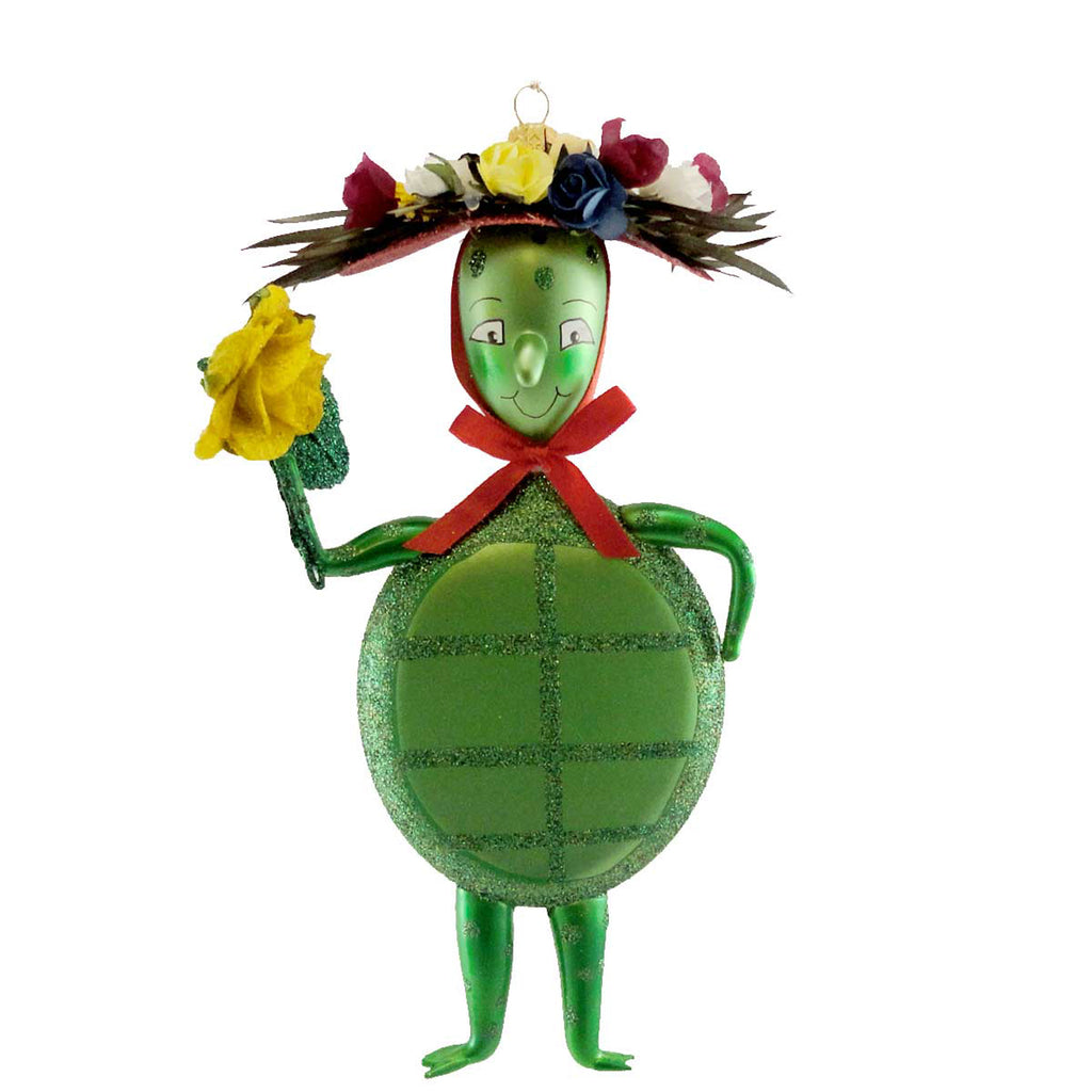 Jinglenog Murtle Glass Ornament