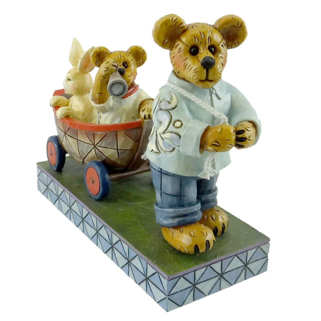 Boyds Bears Resin Drake & Cameron With Hopsley Figurine