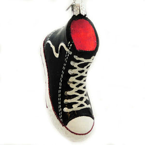 Old World Christmas High Top Sneaker Glass Ornament