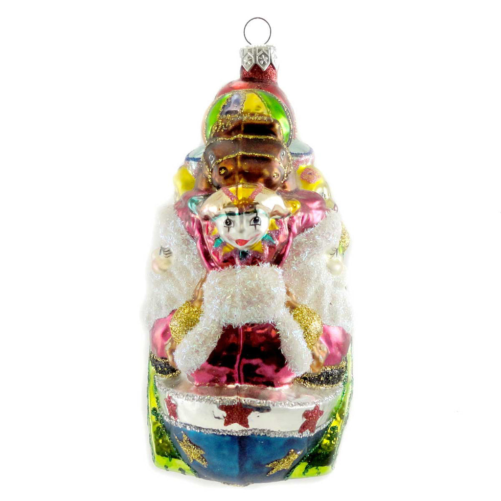 Larry Fraga Across The Bay Glass Ornament