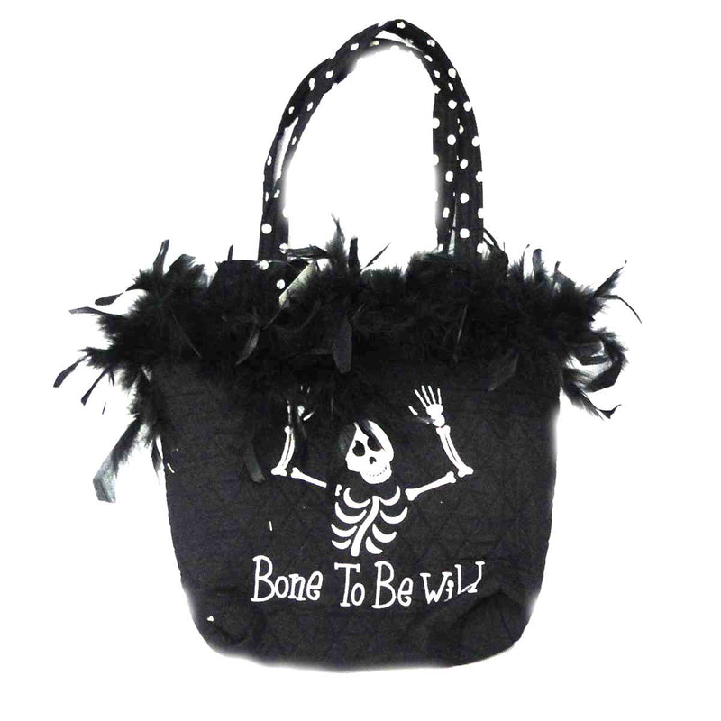 Halloween Bone To Be Wild Tote Handbag / Tote