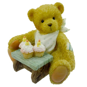 Cherished Teddies Age 3 Three Cheers For You Figurine