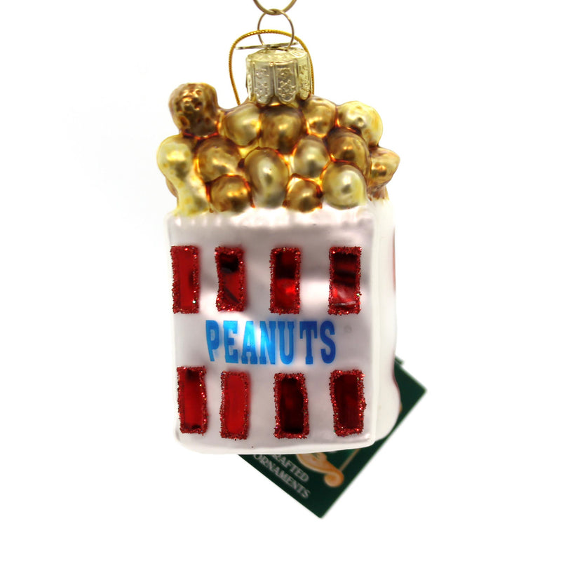 Noble Gems SNACK ORNAMENT PEANUTS Food Snack Salty Movie Georgia NB0235 PEANUTS