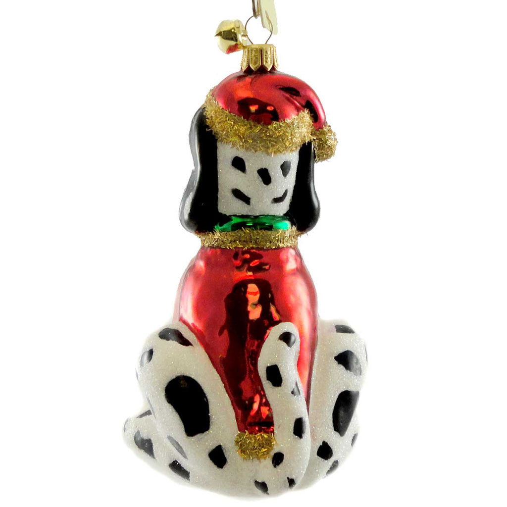 Jinglenog Spot Glass Ornament