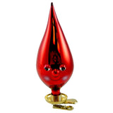 Jinglenog Red Glass Ornament