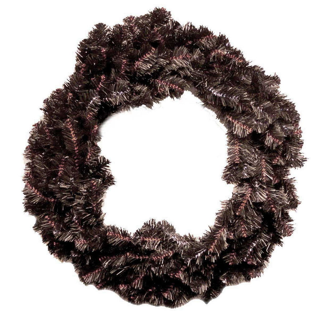Halloween Black/ Orange Artificial Wreath Wreath