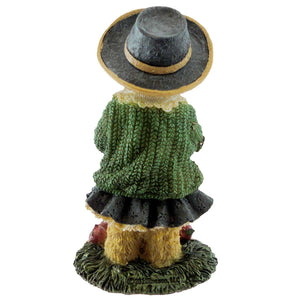 Boyds Bears Resin Little Miss Macintosh Fall Flavor Figurine